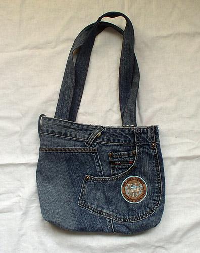 Джинсовая сумка от Татьяны Петровой